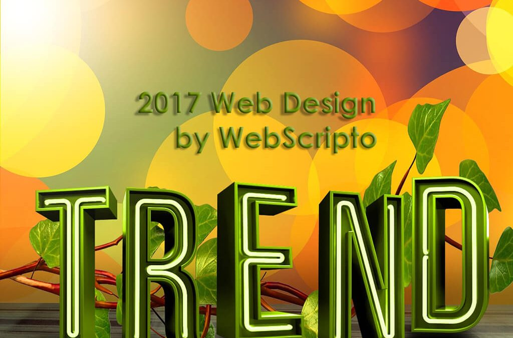 Web Design Trends To Expect in 2017: