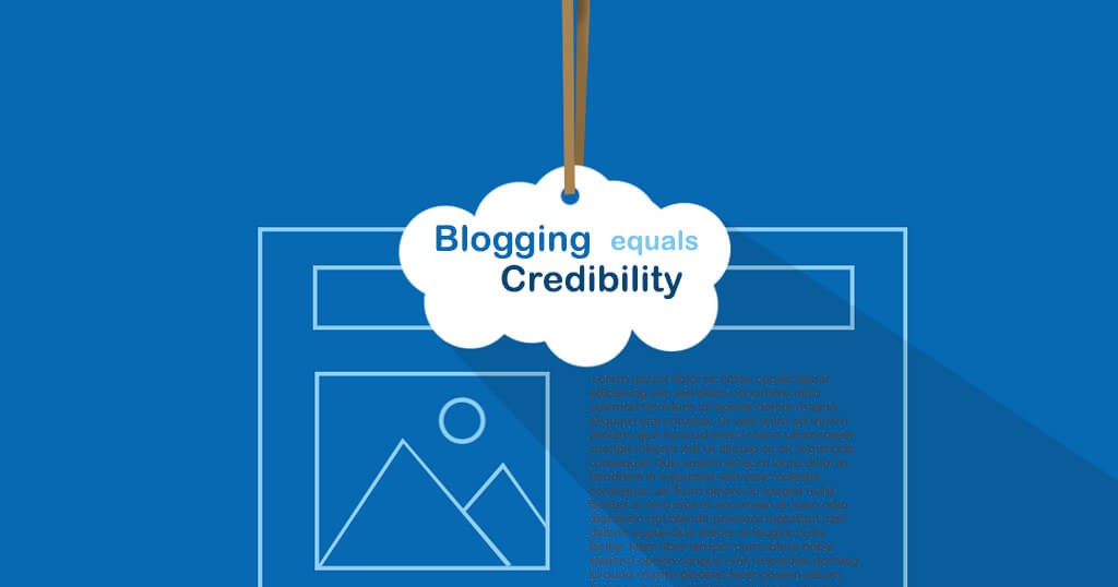 Blogging and Credibility