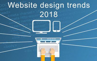 Website Design Trends Expected in 2018: